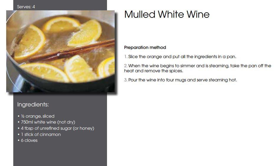 Mulled White Wine Recipe — Dishmaps